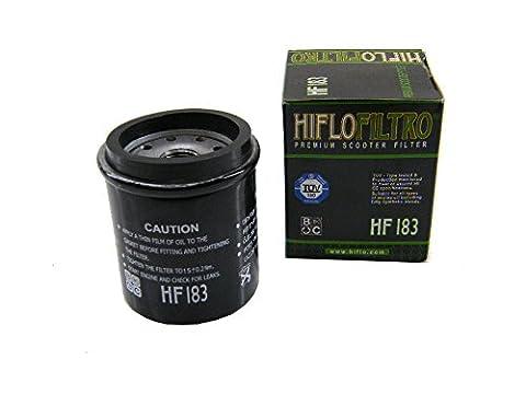 Ölfilter Hiflo HF183 für Adiva Aprilia Benelli Derbi Gilera Italjet Malaguti Peugeot Piaggio/Vespa