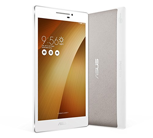Asus ZenPad 7 Powercase Bundle Z370C-1L040A 17,78 cm (7,0 Zoll) Tablet-PC (Intel_atom C3200, 2GB RAM, 16GB eMMC, Mali-450 MP4, Android 5.0) metallic