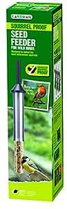 Gardman guaranteed squirrel proof wild bird seed feeder