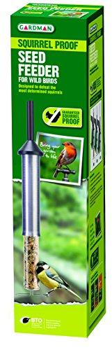 Gardman guaranteed squirrel proof wild bird seed feeder Test