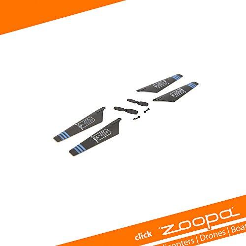 Preisvergleich Produktbild ACME - Ersatzrotorblätter für Helikopter zoopa 150 Blu Iz (AA0178-A)