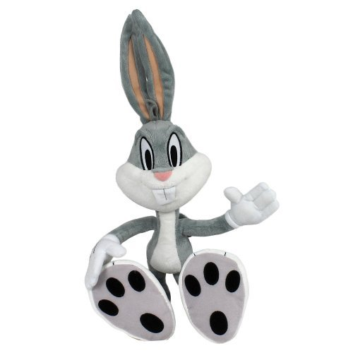 the-looney-tunes-show-plush-with-sound-bugs-bunny-12-inches-by-the-bridge-direct
