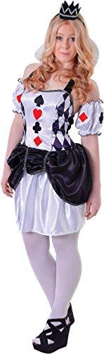 Teen Fancy Dress (TEEN HARLEQUIN CARD JESTER FANCY DRESS)