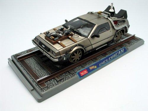 diecast-model-de-lorean-lk-railroad-version-back-to-the-future-part-3-in-silver