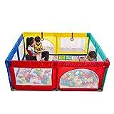 Clôture pour Centre de Jeu Portable Lavable avec Parc pour Enfants, Tapis, Parc et...