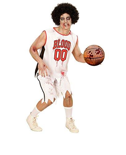 stüm - Zombie Basketball Spieler - Größe 52 (L) (Zombie Basketball Kostüm)