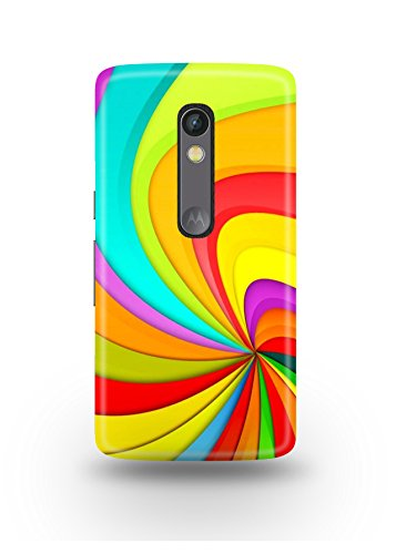 Moto X Play Cover,Moto X Play Case,Moto X Play Back Cover,Colorful Pattern Moto X Play Mobile Cover By The Shopmetro-12432