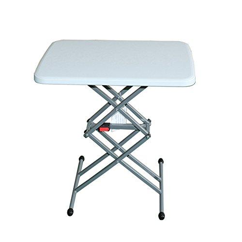 Table simple pliante / table à manger / table à manger simple / chaise de bureau portable / ordinateur réglable bureau / petite table carrée (64 * 45 cm)