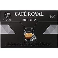 Café Royal Ristretto 132 cápsulas compatibles con Nespresso* Intensidad: 9 de 10 (Pack