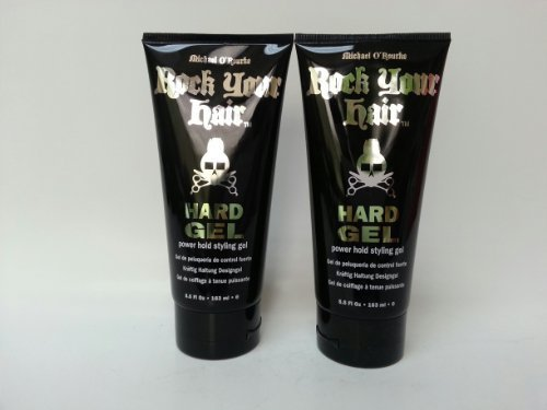 Michael O'Rourke Rock Your Hair Hard Gel 5.5fl oz-2PK by Michael O'Rourke