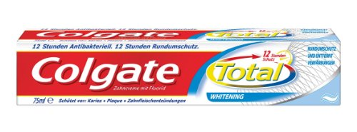COLGATE TOTAL Plus Whitening Zahnpaste, 75 ml