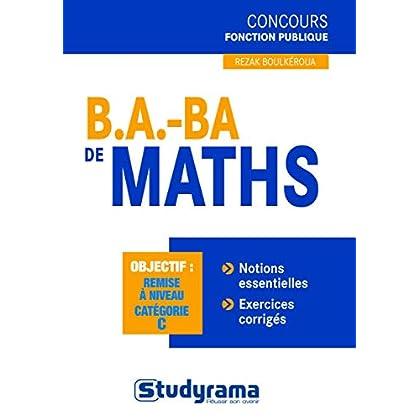 B.A. BA de maths