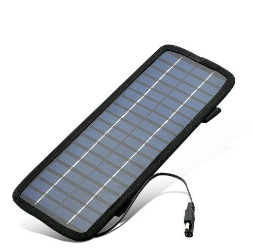 High-Tech Place-Caricabatterie a energia solare 10 W, stile mimetico, 10 connettori vari