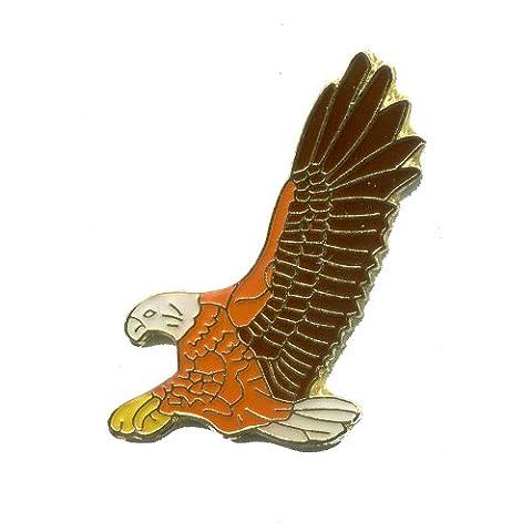 Adler Eagle Aigle Greifvogel Trend Metall Button Badge Pin Anstecker 0369 - Button Uccello