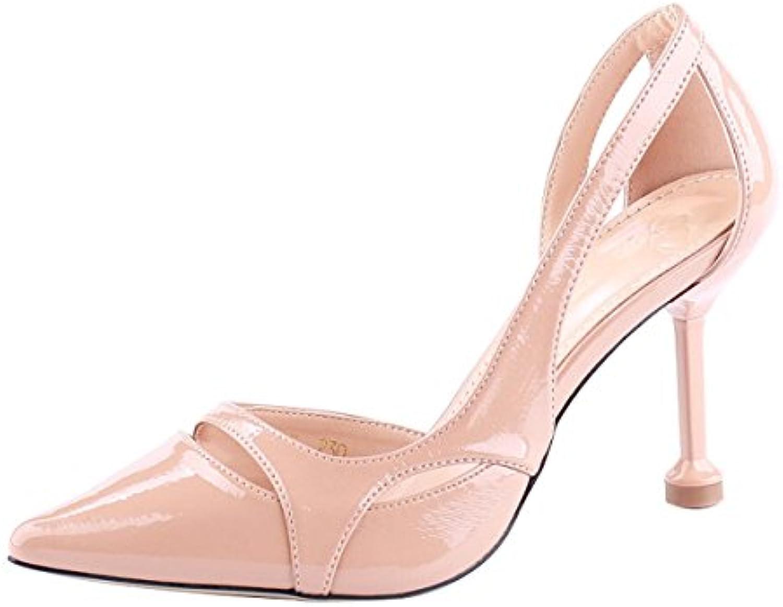 les cheveux de femmes a kphy 9cm chaussures chaussures à hauts talons hauts à mince et petite bouche à la mode des chaussures pour femmes summer sexy...b07fc3djrd parent 86ea39