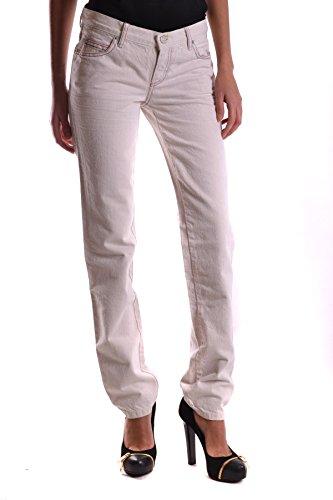 Alexander Mcqueen Jeans (Mcq Alexander Mcqueen Damen Mcbi206006o Weiss Baumwolle Jeans)