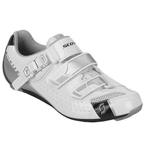 Scott Road Pro Chaussures de cyclisme pour femme Blanc/noir 2018, 39