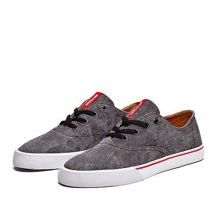 Supra - Sneaker WRAP, Unisex adulto Black/Red/White