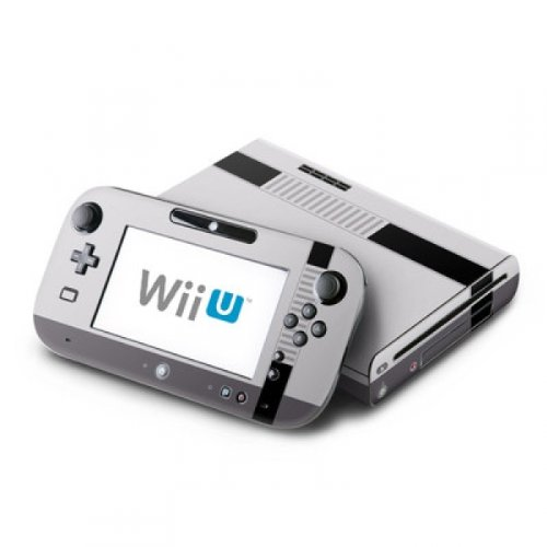 DecalGirl Nintendo Wii U Skin Design Aufkleber Sticker Set - Retro Horizontal