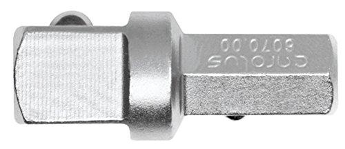 "Preisvergleich Produktbild CAROLUS 6070.00 Adapter 3/8"" VKT x 5/16"" SKT, 1 Stück"