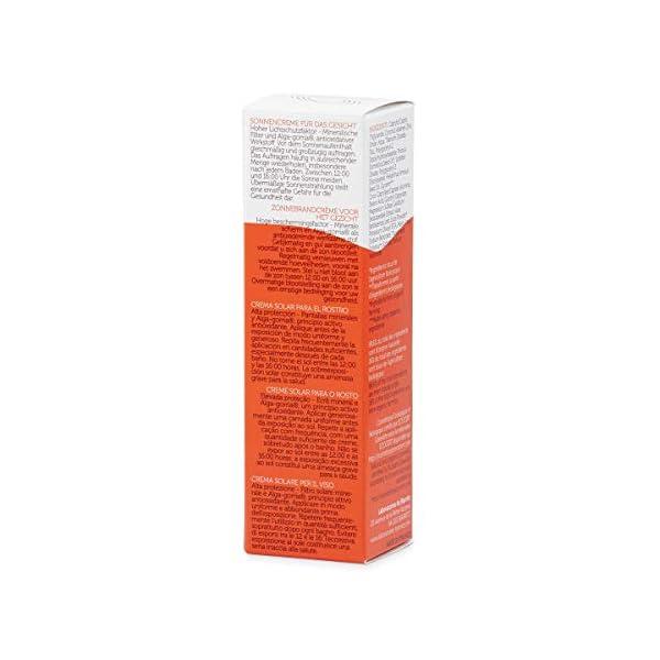 Algamaris – Crema solar facial, SPF50, certificado bio, 50 ml