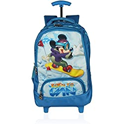 Disney School Trolley Bag For Girls 07+ Years Mickey Mouse Born To Win 24 (L) Mix (At-0003)