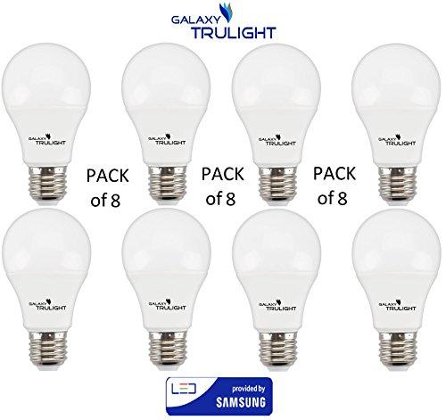 Confezione da 8 - 15W lampadina LED (100W equivalente) - Galaxy Trulight LED fornito da Samsung - bianco caldo