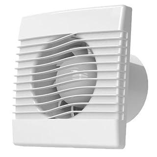 Quality Wall Kitchen Bathroom Extractor Fan 120mm Standard pRim Ventilation Fan by Airroxy