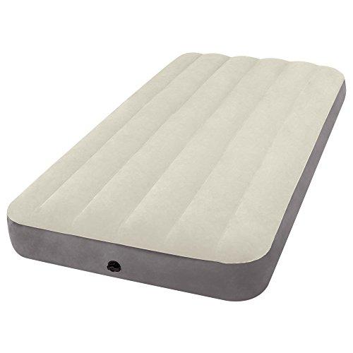 Preisvergleich Produktbild Intex – aufblasbare Matratze 99 x 191 x 25 cm Sand and Grey