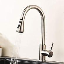 GIMILI Küchenarmatur Mit Brause Ausziehbar   Wasserhahn/Mischbatterie /  Armatur Für Die Küche 360°