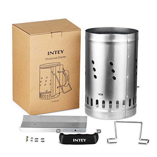 41jkNCLV8mL. SS500  - INTEY BBQ Chimney Starter Charcoal Starter