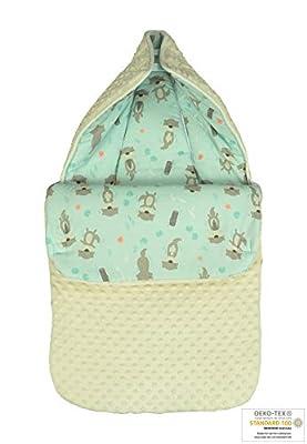 MoMika Saco Baby – 80x45 cm Saco Saco de manta Manta de Bebé Cochecito De Bebé De Algodón