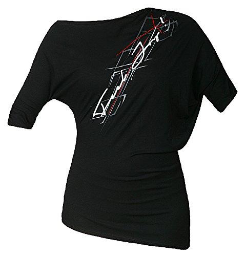 Feel JOY. Camicia da donna Blouse Gamer, Donna, Bluse Blouse Gamer, nero