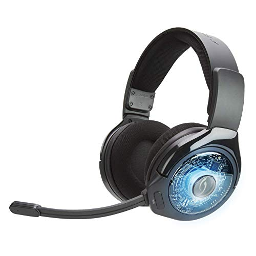 9+ Prismatic True kabelloses Gaming-Headset 051-044-EU-BK-AMZ, Schwarz ()