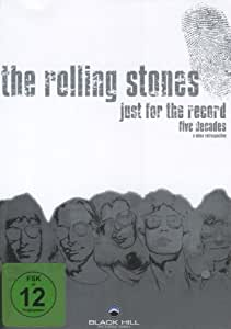 The Rolling Stones - Just For the Record [4 DVDs]
