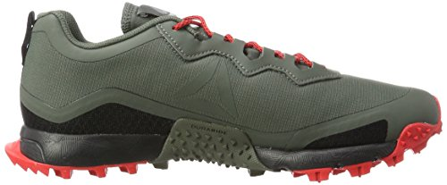 Reebok All Terrain Craze, Chaussures de Running Entrainement Homme Gris (Ironstone/dayglow Red/black)
