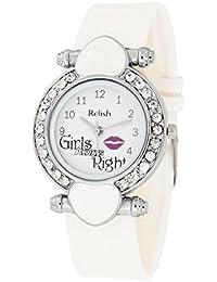 Relish Analogue White Dial Women's Analogue Watch - Relish-L720