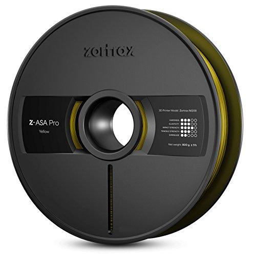 zort RAX 5902280822578ASA de Z Pro Filament, 1,75mm, 800g, jaune