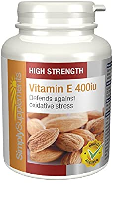 SimplySupplements Vitamin E 400iu  240 Capsules from Simply Supplements