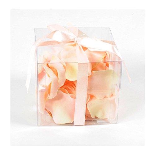 fleur coupee synthetique rose petales bte 100 (cdt 12)