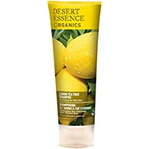 Desert Essence Lemon Tea Tree Shampoo Unisex No profesional Champú 237ml - Champues (Unisex,