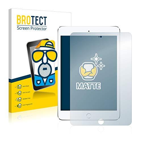 BROTECT Entspiegelungs-Schutzfolie kompatibel mit Apple iPad Mini 4 (2 Stück) - Anti-Reflex, Matt