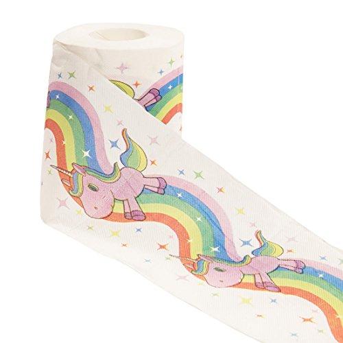 Einhorn-Toilettenpapier : 1 Rolle