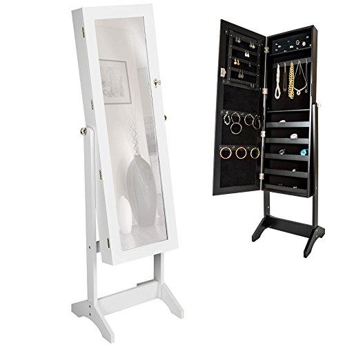 tectake-armadietto-portagioie-con-specchio-specchiera-con-anta-portaoggetti-gioielli-bianco-149-x-42