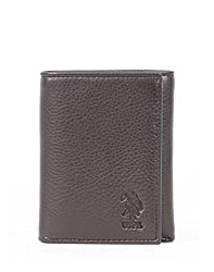 U.S. Polo Assn. Dark Brown Mens Wallet (USAW0516)
