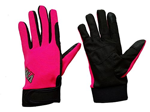 VM Western Sports Riding Sports Sommer Pure Handschuhe, Pink, XS