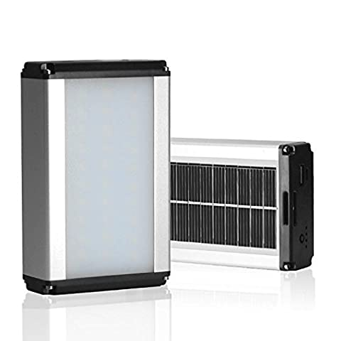 FYN Tragbare wiederaufladbare LED-Solar-Outdoor-Camping-Zelt Licht tragbare Lampe Feld