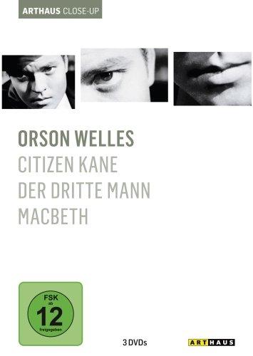 Bild von Orson Welles - Arthaus Close-Up [3 DVDs]