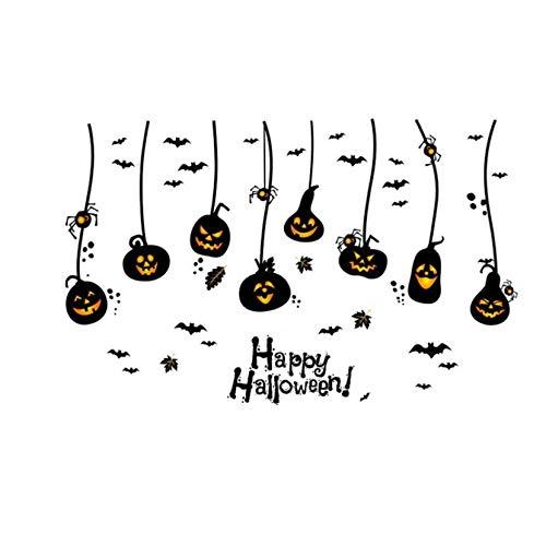 Wandaufkleber Halloween Dekoration Wandtattoos Vintage Post Abnehmbare Aufkleber Möbel Aufkleber Decor ()