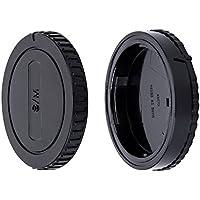 JJC Tapa de Cuerpo + Tapa del Objetivo de Cámara para Sony Alpha A-Mount/Minolta AF Mount DSLR & Sony Alpha A-Mount/Minolta AF Mount Objetivo (Conjunto de 1)